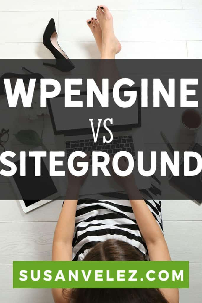 Which hosting account should I use as a new blogger? Today, we'll take a look at WPEngine vs Siteground and compare the two popular blogging platforms to see which one is the best. I am personally using SiteGround for this blog, but have used WPEngine for some clients sites. #wordpress #blogging #blogger #siteground