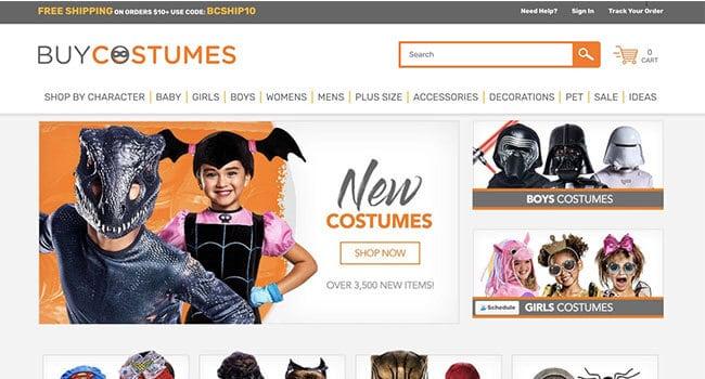 buy costumes affiliate program