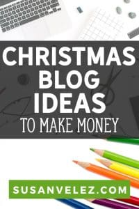 Running a blog is hard, that's why I like sharing holiday ideas and topics to help you keep your blog updated, even when you don't have a lot of time. Today, I'll be sharing 41 Christmas blog post ideas that you can use to get your blog ready for the upcoming holidays.