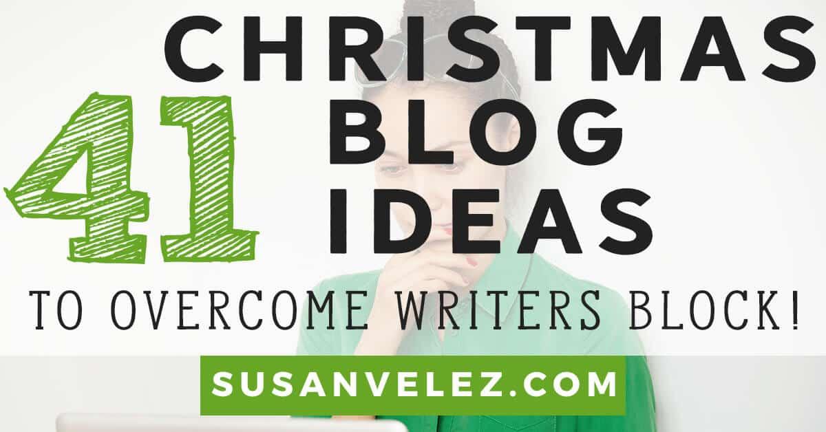 Christmas blog post ideas