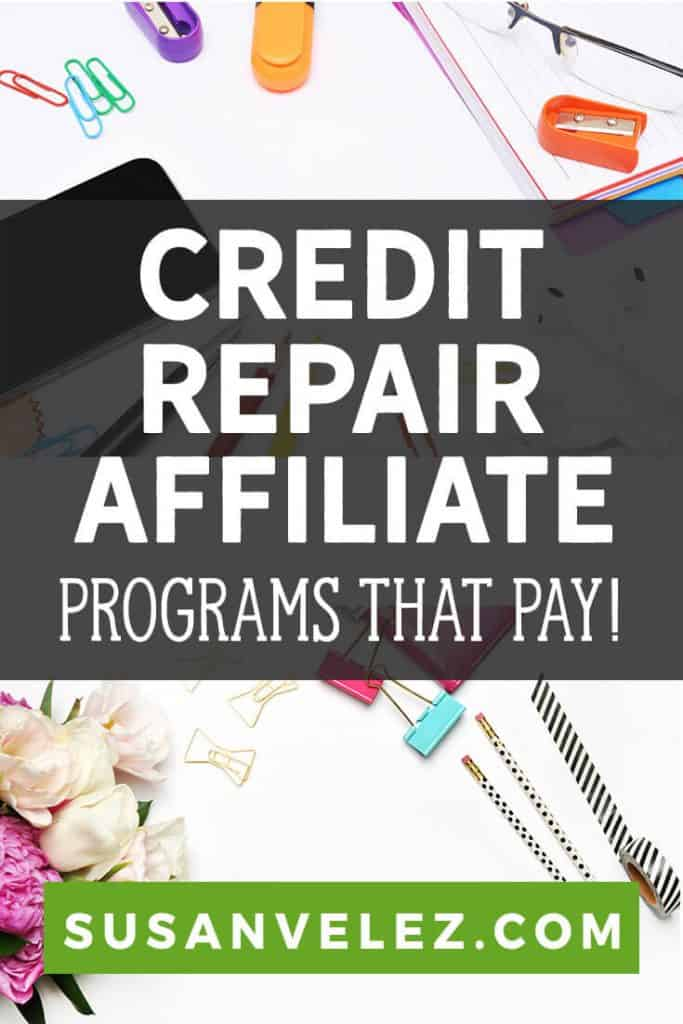 If you're in the finance niche, then you have the opportunity to make some great money with these 9 best credit repair affiliate programs. The credit repair business is extremely profitable and... #blogging #income #affiliate