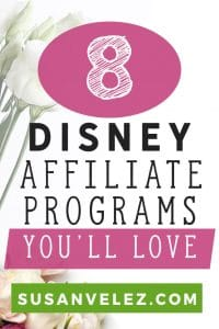 Are you looking for a Disney affiliate program to join? If so, then I've compiled a list of the top 10 Disney affiliates to help you monetize your blog. #disney #affiliate #makemoney