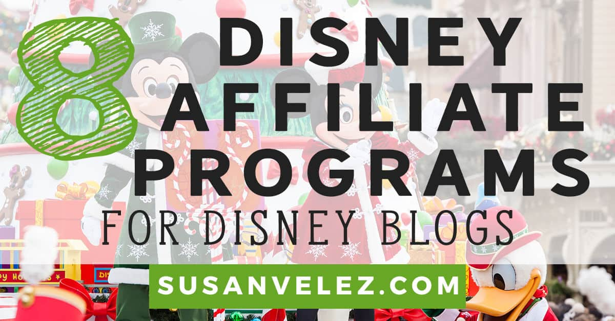 Disney affiliate program