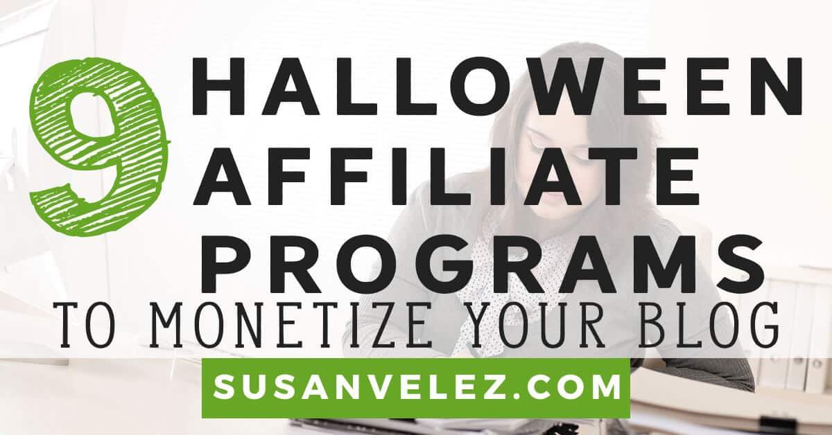 Halloween affiliate program
