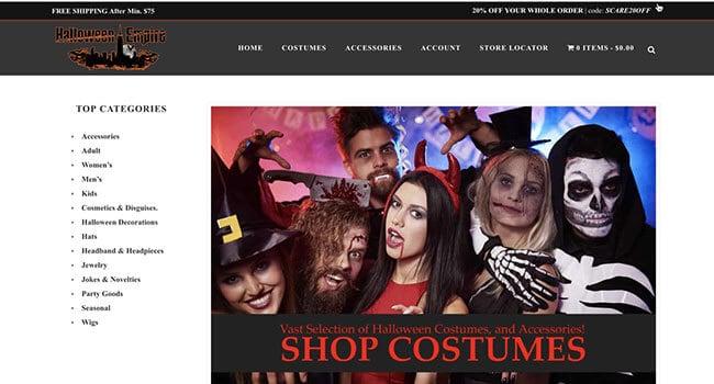 Halloween empire affiliate program