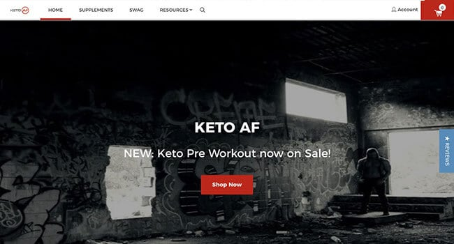 keto af affiliate program