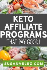 The keto diet niche is huge and there are several different ways to monetize this type of blog. I've done all the research for you to help you find 9 of the best Ketogenic affiliate programs you can join today to start earning money.