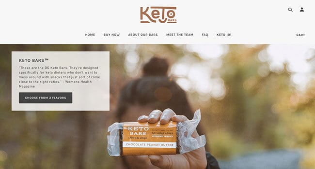 keto bars affiliate program