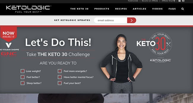 keto logic affiliate program
