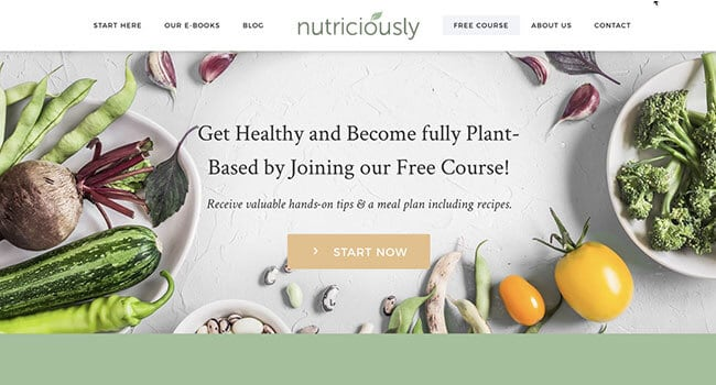 nutriciously affiliate program