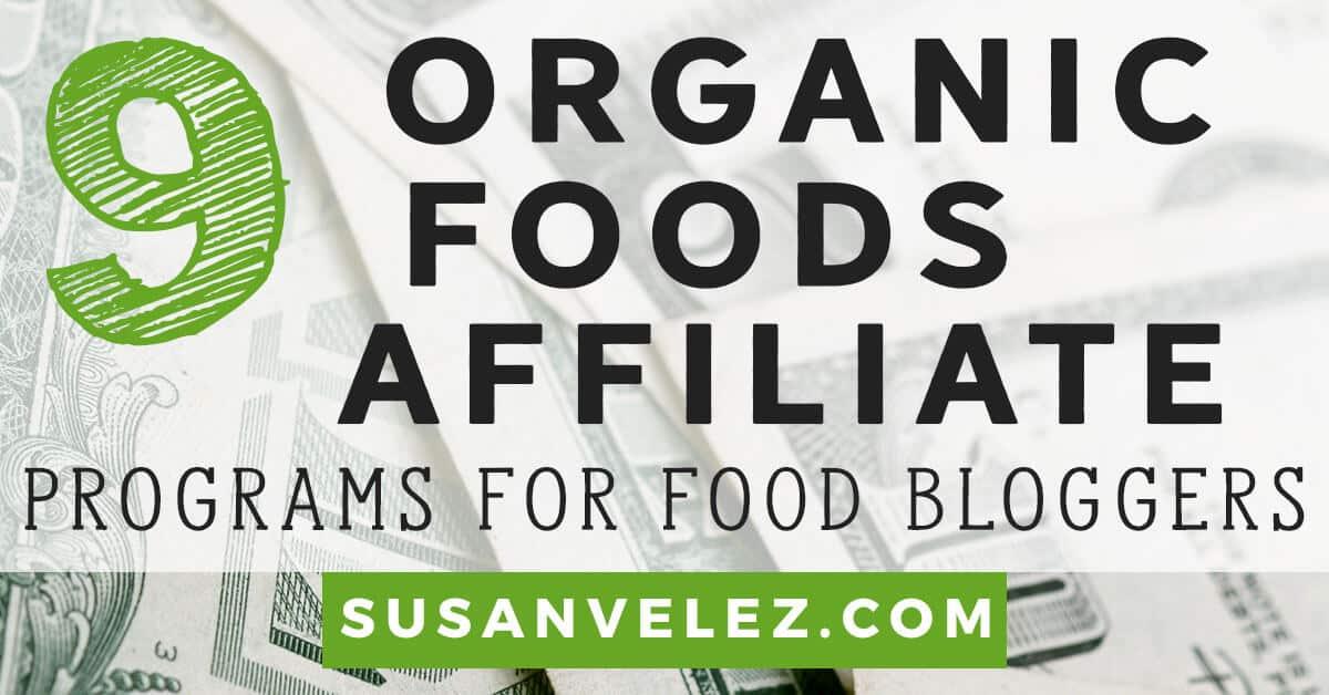 organic food affiliate programs