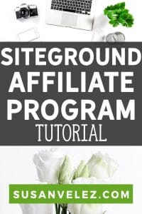 Maybe you're looking for the highest paying web hosting affiliate program? Or maybe you've just heard that you can make money with the SiteGround affiliate program? #blogging #blogger #affiliate