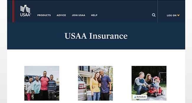 usaa military insurance