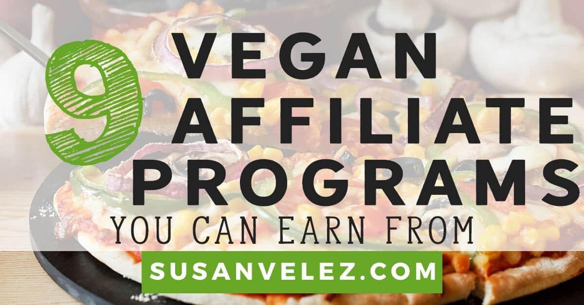 vegan affiliate programs