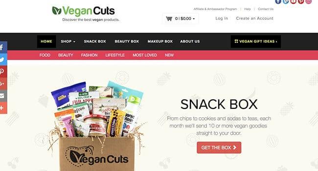 vegan cuts ambassador program
