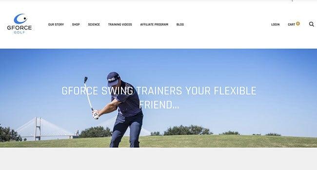 gforce golf affiliate program