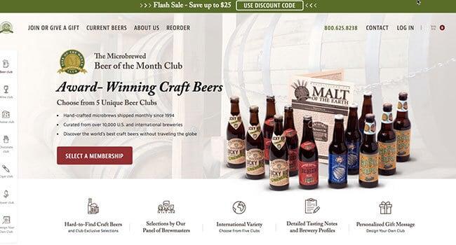 beer month club beer affiliate program
