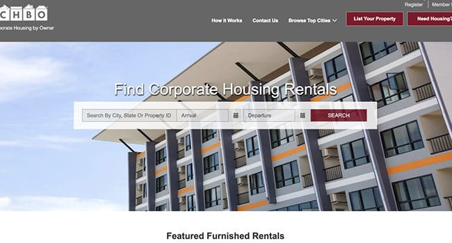 corporate housing by owner affiliate program
