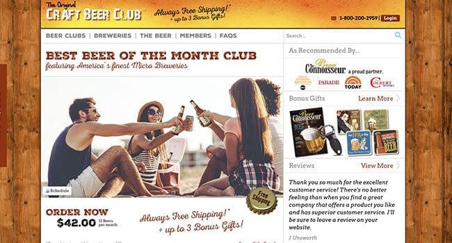 craft beer club beer affiliate program