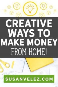 Looking for creative ways to make money online? Maybe you need to make some money on the side, because you've come up against some financial issues?