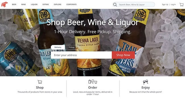 drizzly beer affiliate program