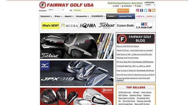 fairway golf usa affiliate program