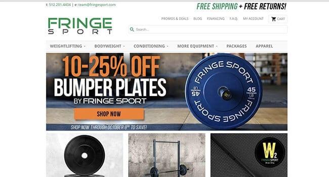 fringe sport affiliate program