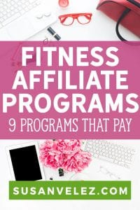 The fitness niche is huge and you have the potential to supplement your income by promoting some of the best fitness affiliate programs.