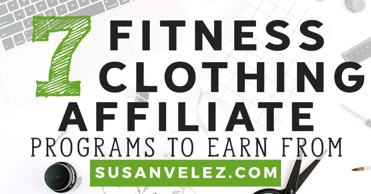 fitness clothing affiliate program