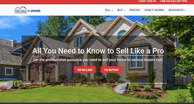 for sale by owner affiliate program