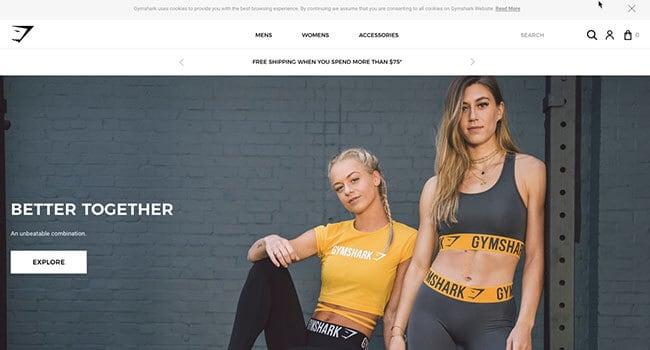 gymshark fitness clothing affiliate program