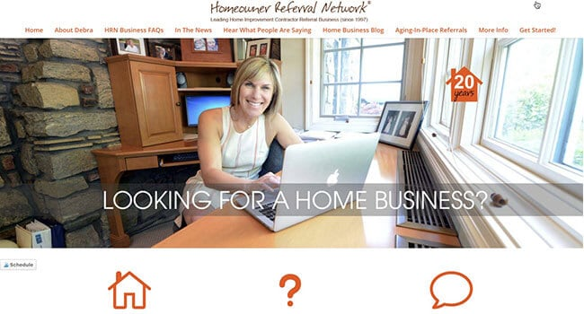 homeowner referral network