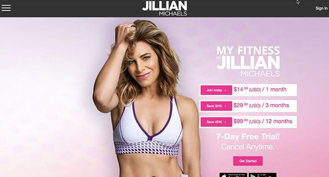 jillian michaels fitness program