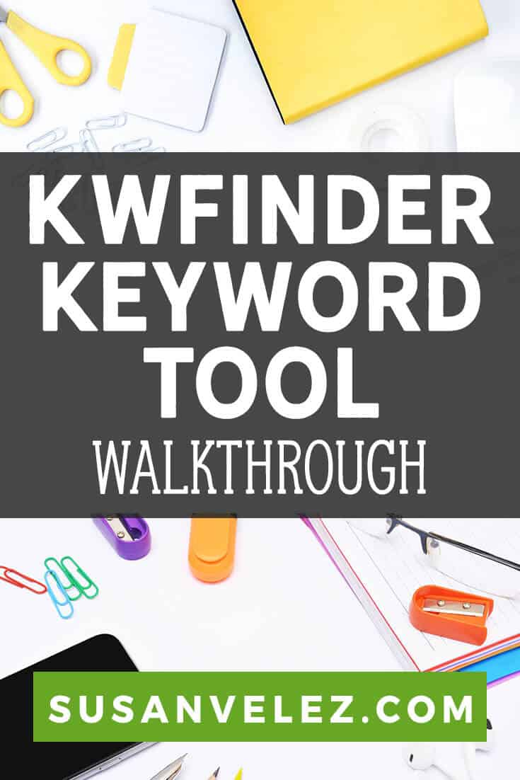 Are you struggling to get free Google Traffic? If so, then you're going to love this KWFinder review where I show you all the features and how to use it to get the best results.