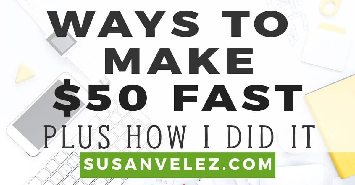 make 50 fast