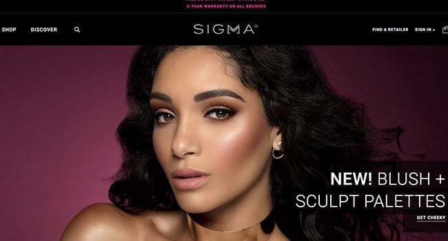 sigma beauty affiliate program