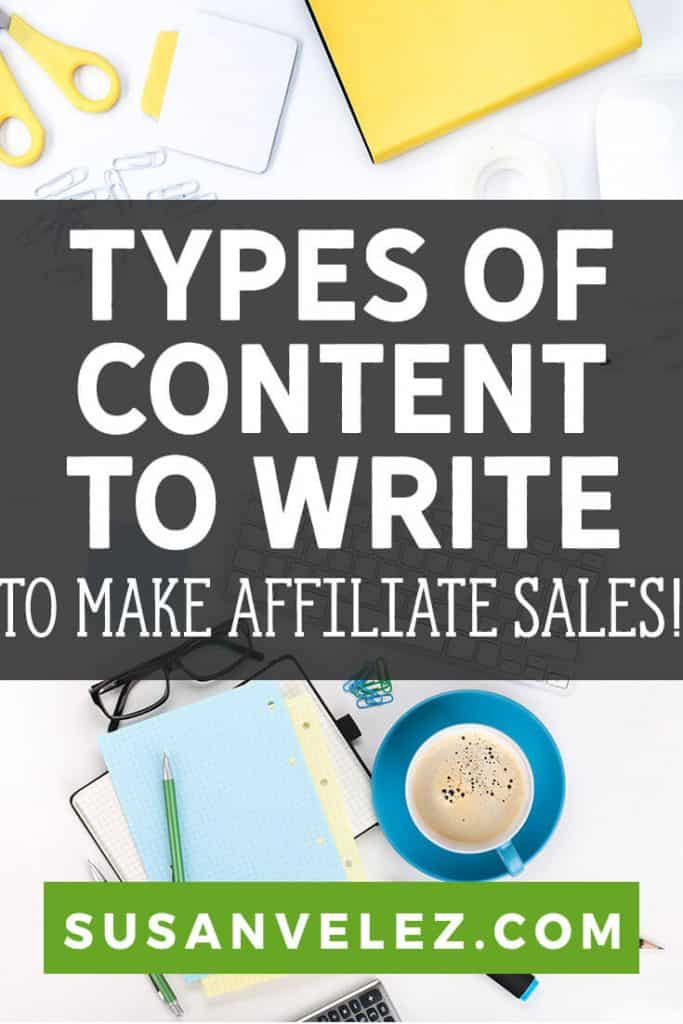 affiliate marketing content pin
