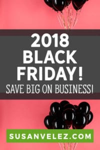 The best Black Friday deals for bloggers. Every blogger needs the right tools and courses to help them grow their blog. Get the best Black Friday Deals for bloggers. Don't spend all day searching online for discounts on Black Friday, instead, I'm sharing them with you right here. These Black Friday 2018 deals will help you blog grow.