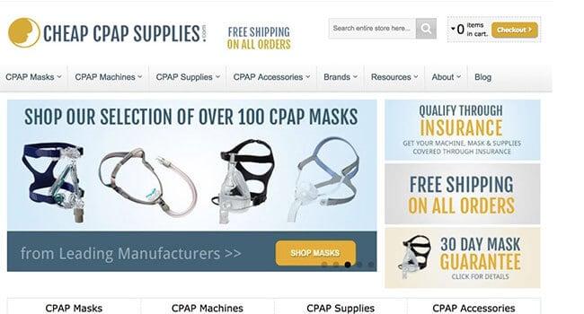 cheap cpap supplies affiliate program