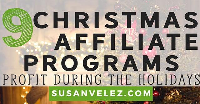 Christmas affiliate program