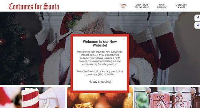costumes for santa affiliate program