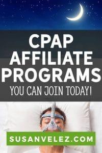 cpap affiliate program pin