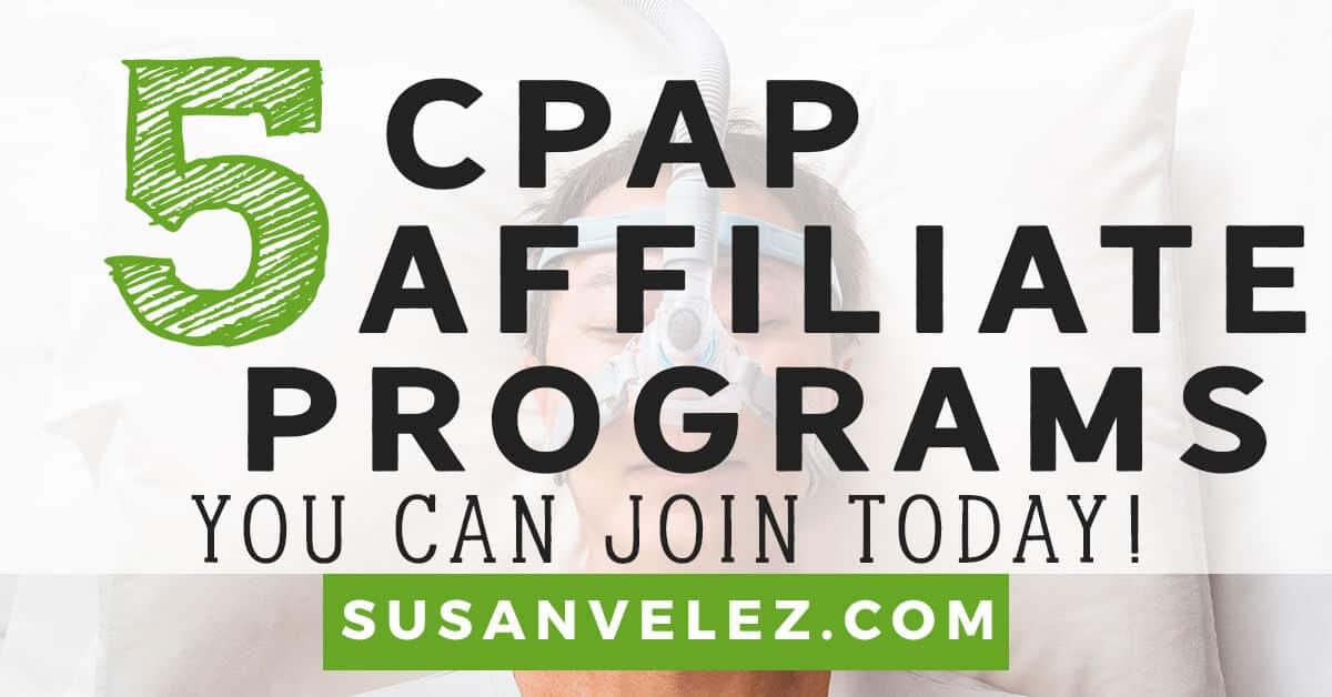 cpap affiliate program
