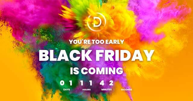 divi black friday deals