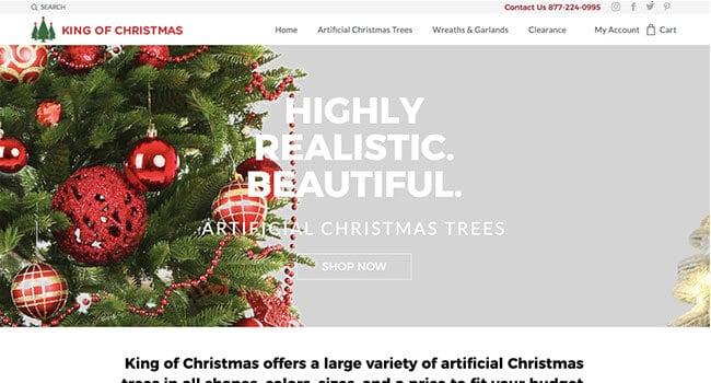 king of Christmas affiliate program