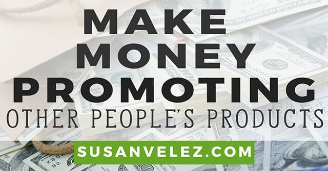 make money promoting products