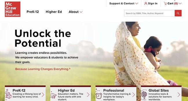McGraw Hill education affiliate program
