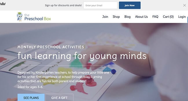 the preschool box affiliate program