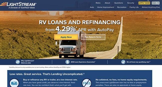 lightstream rv loans affiliate program