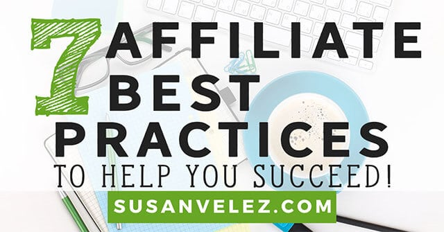 affiliate marketing best practices